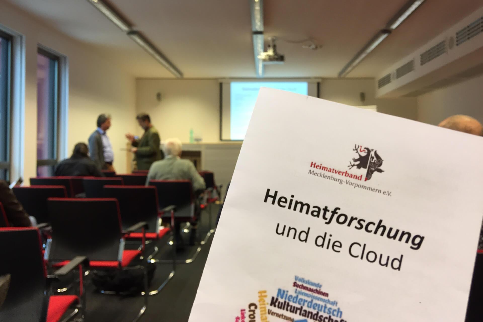 Heimatforschung und die Cloud