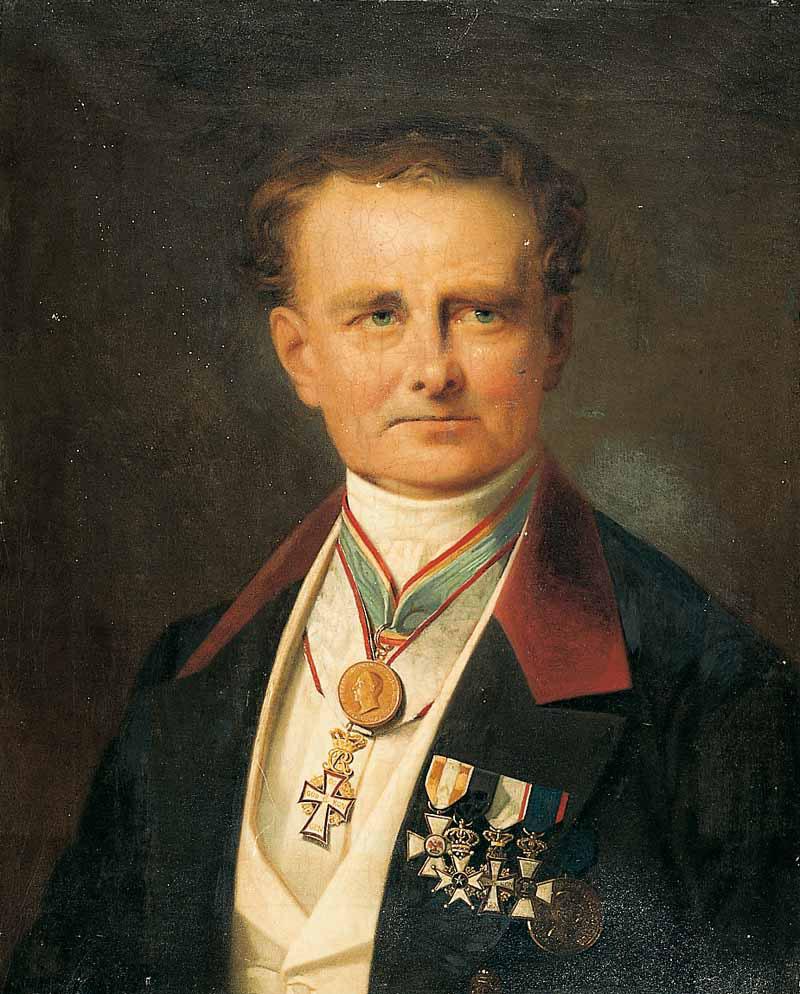 Porträt von Friedrich Lisch
