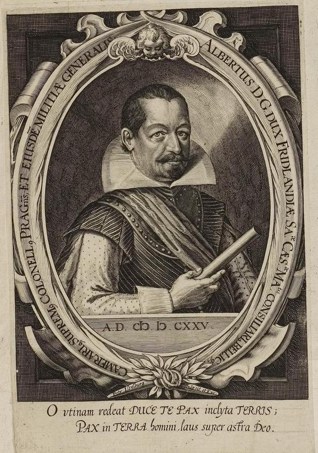 Porträt von Albrecht von Waldstein