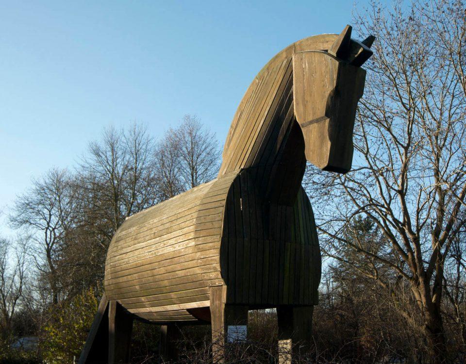 Trojanisches Pferd in Ankershagen