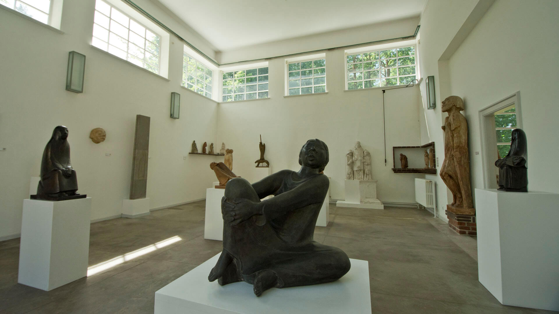 Blick in Barlachs Atelier
