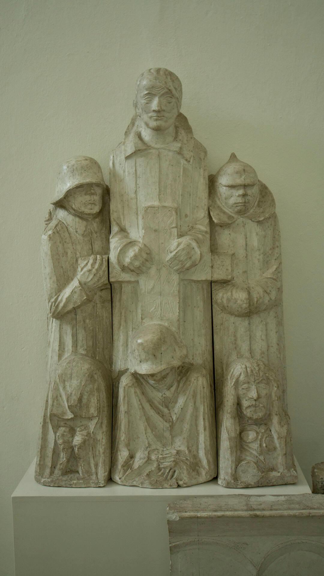 Barlachs Ehrenmal für den Magdeburger Dom