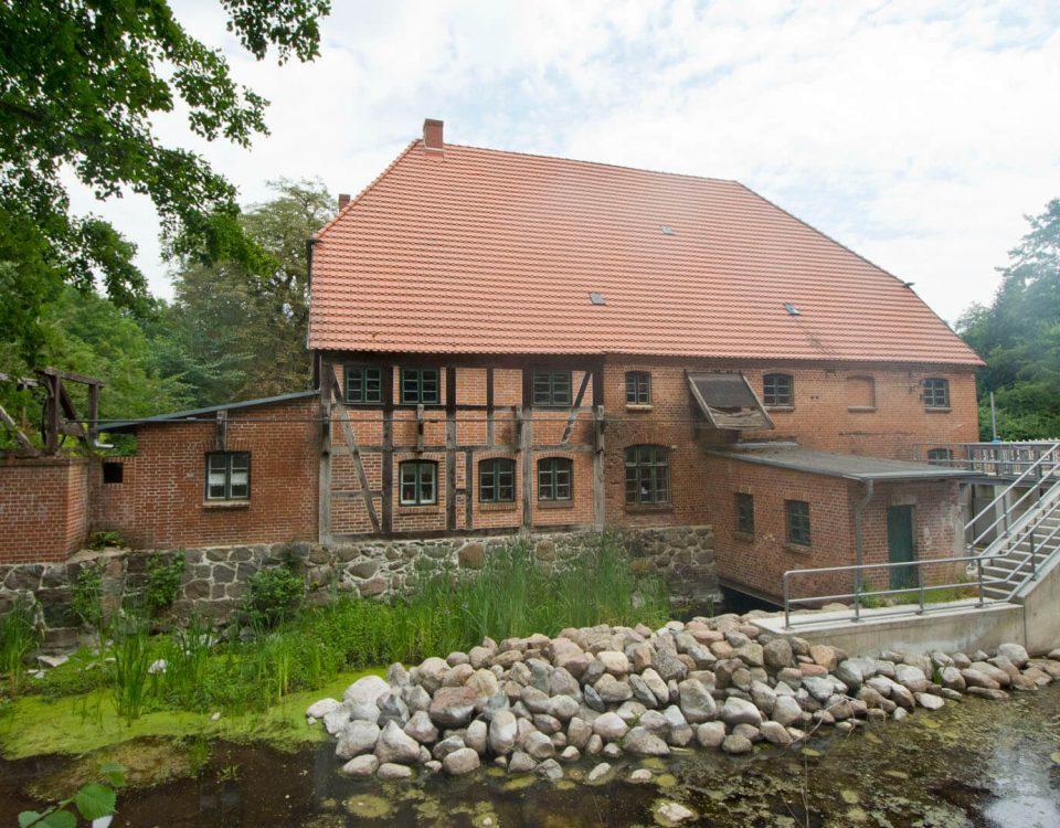 Wassermühle in Kuchelmiß