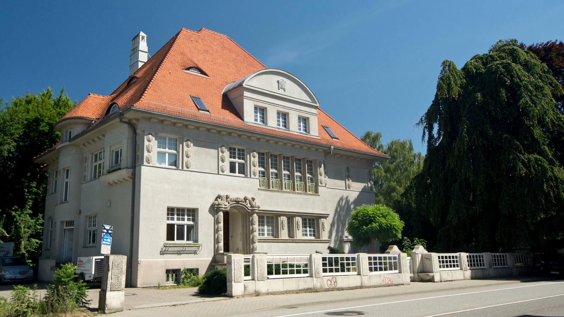 Villa Zeeck, erbaut von Paul Korff