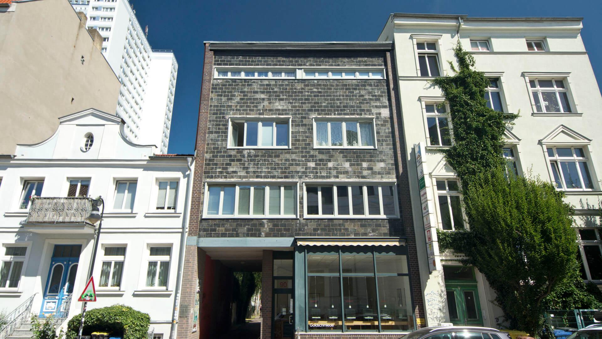 Wohnhaus, erbaut von Paul Korff