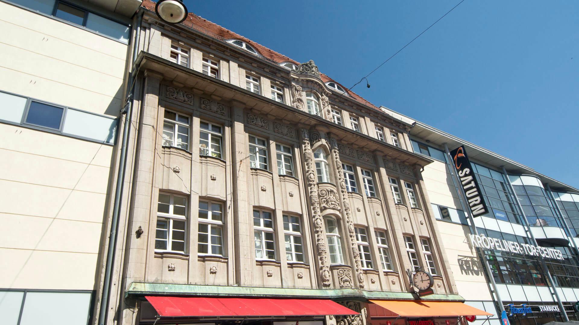 Geschäftshaus Lement, erbaut von Paul Korff