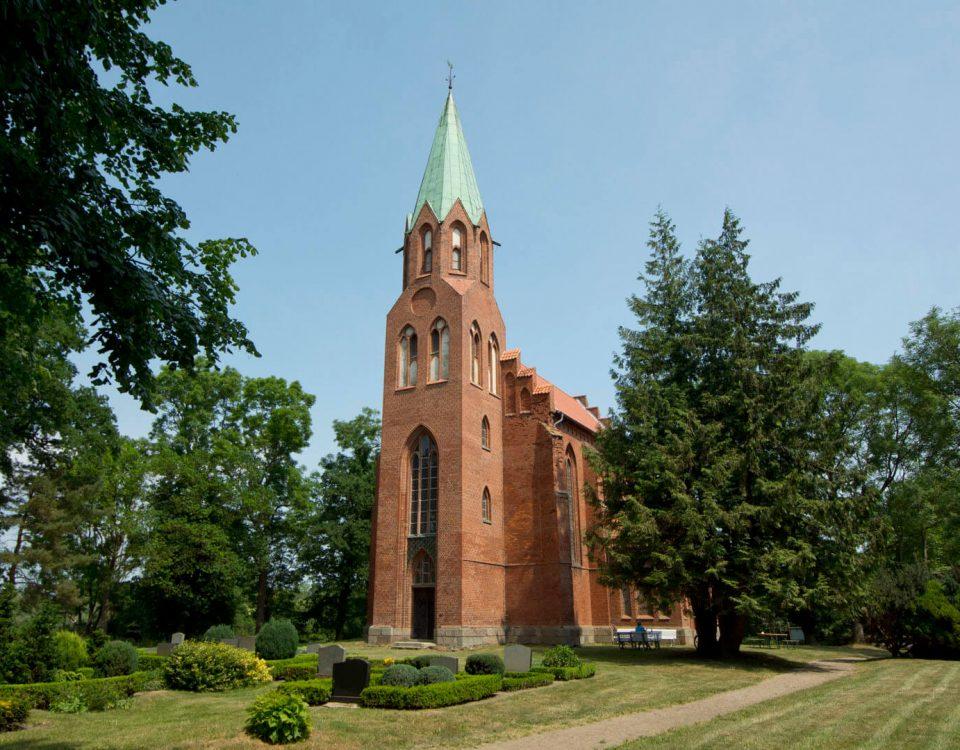 Die Radfahrerkirche in Pantlitz
