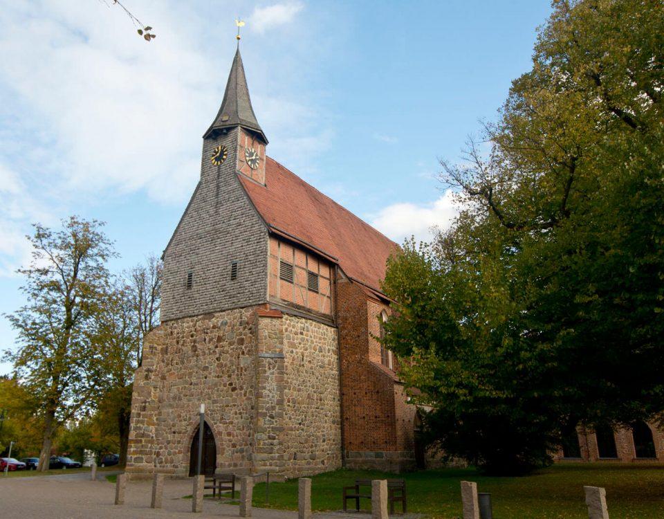 Die Kirche in Zarrentin