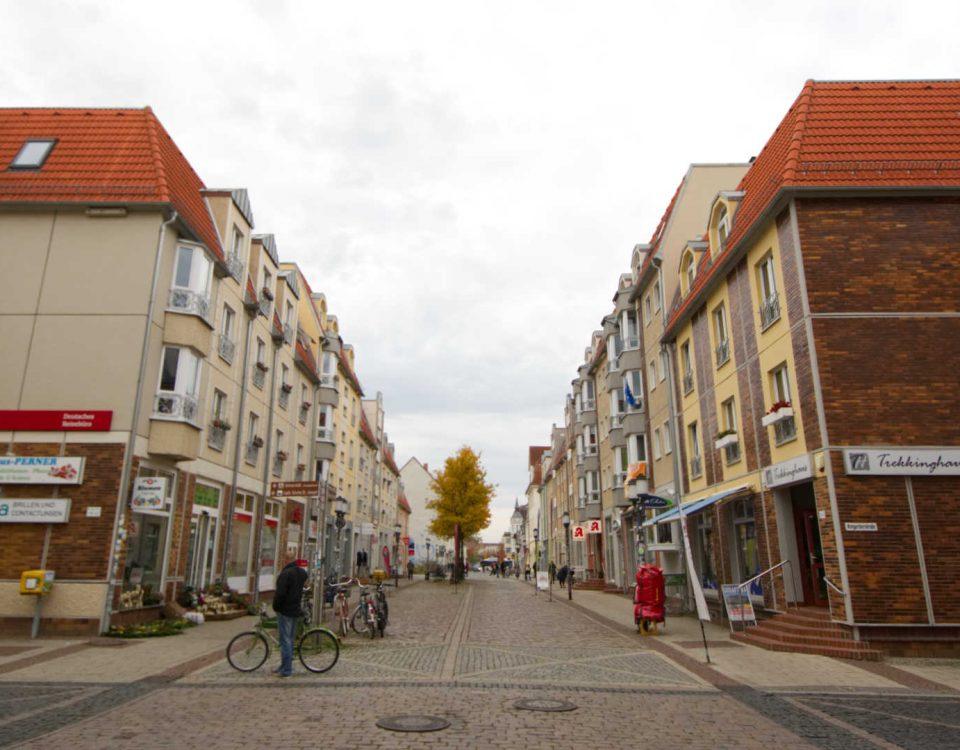 Lange Straße in Greifswald