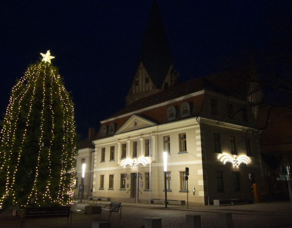 Das Rathaus in Röbel